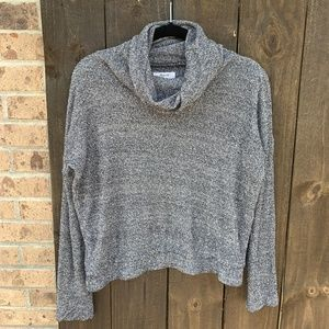Madewell Cotton/Silk Cowl Neck Knit Pullover XS